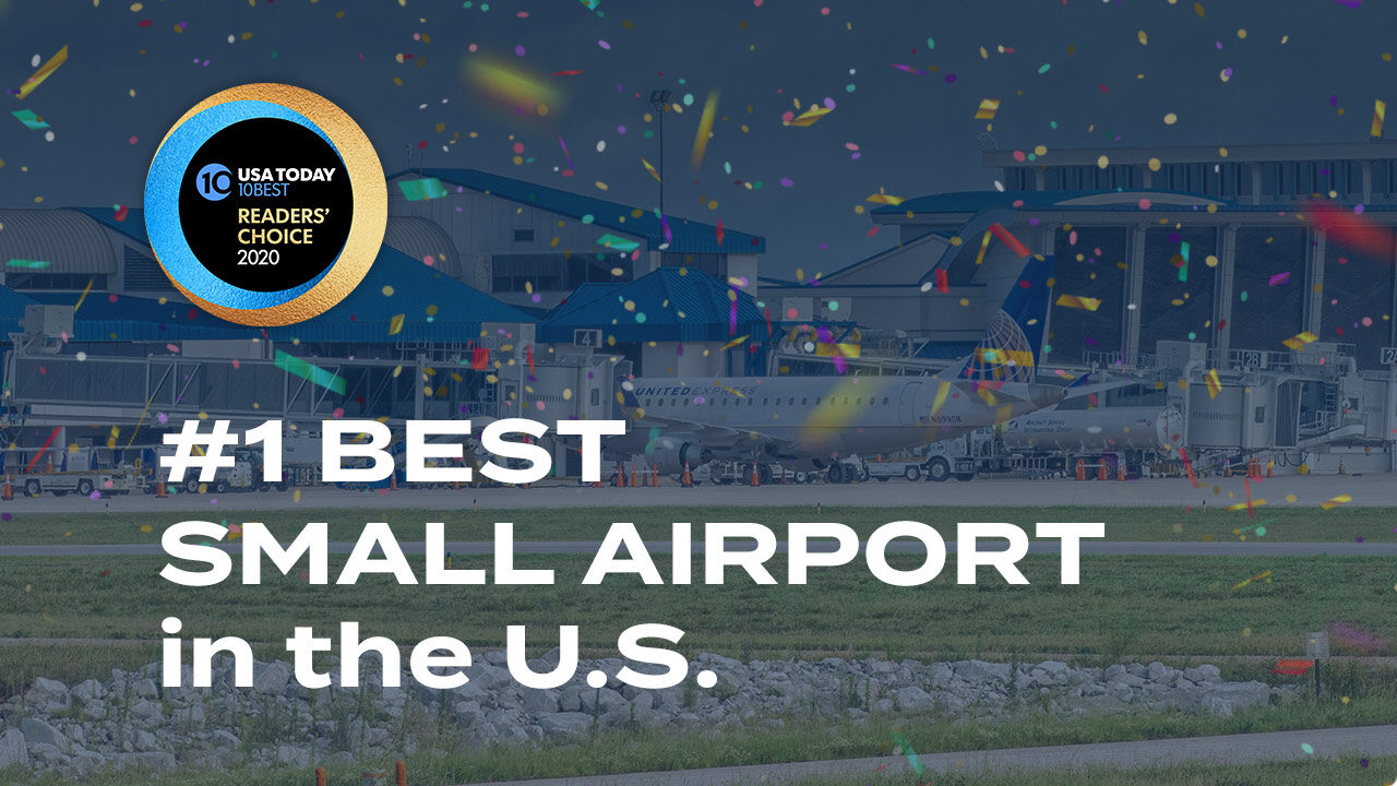 HSV Voted Number One Small Airport in the U.S.